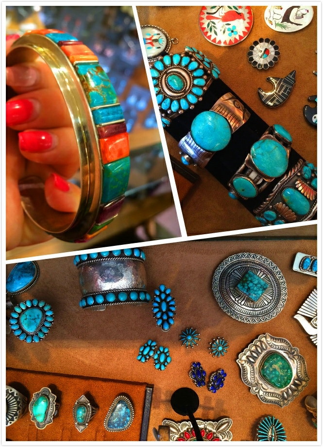We traveled to New Mexico to study traditional Native American jewelry art.