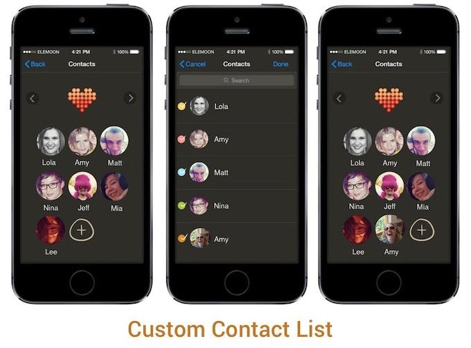 elemoon app design