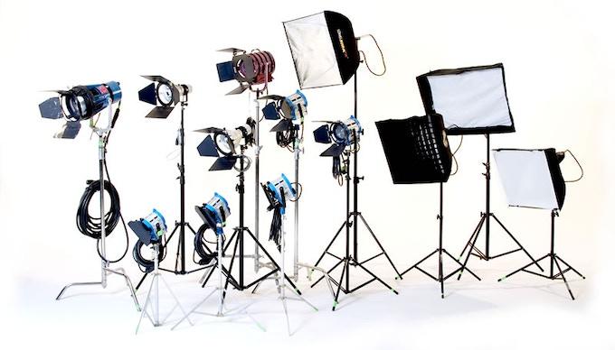 We will be using professional lighting equipment from Arri, Kino, Mole and Joker