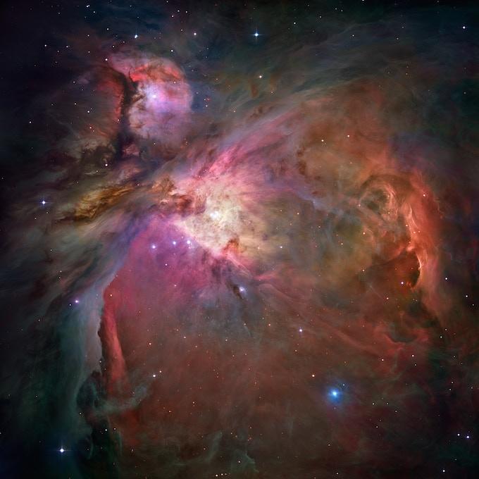 A Multicoloured Nebula