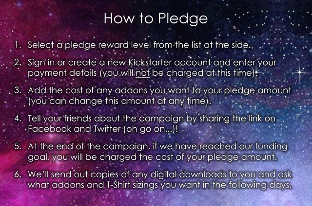 How to pledge to the campaign