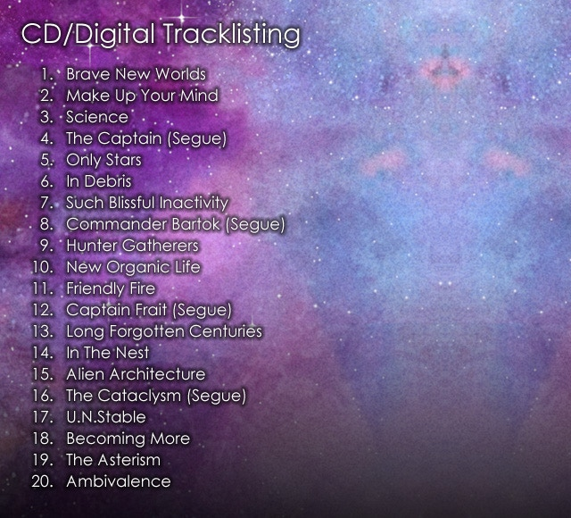 CD & Digital Download Tracklisting