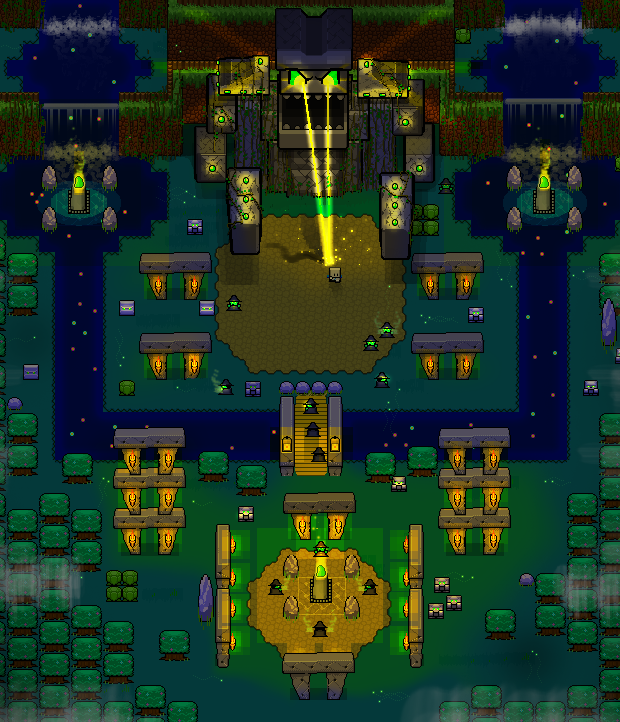 The Earth Temple Guardian - Click here for fullscreen