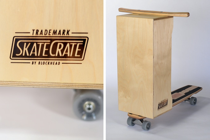 Skate Crate: The Anti Scooter - American classic re-imagined