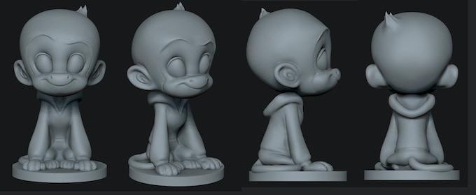 The Q Figurine!