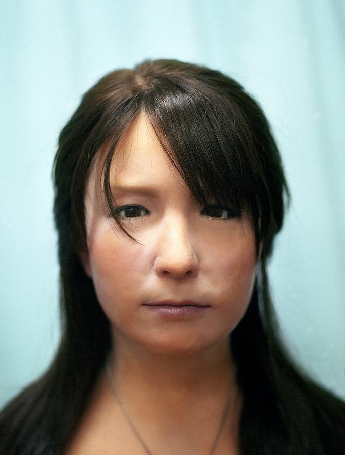 Geminoid F Portrait, 2012, Japan