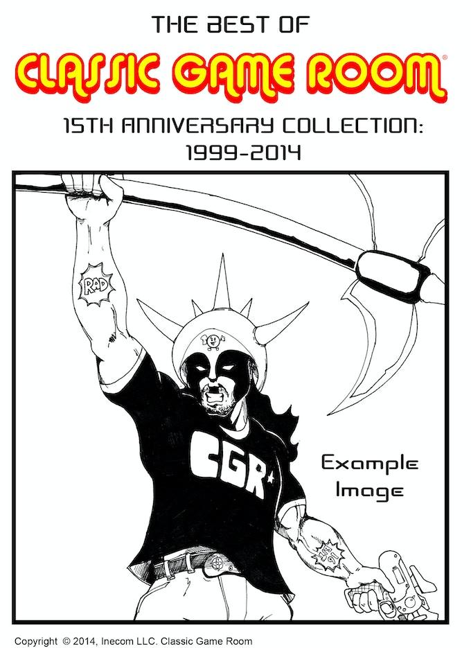 Sample of custom DVD case artwork cover hand drawn & signed by Mark Bussler