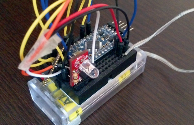 We tried a quick prototype with Arduino to make sure it works