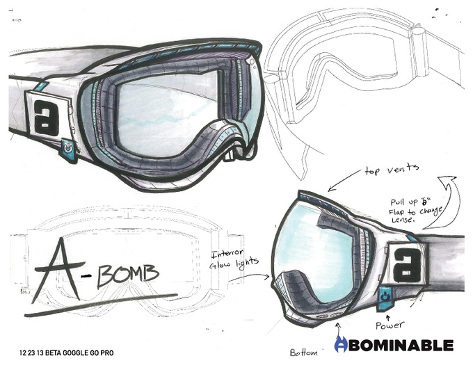 Early F-BOM sketches.