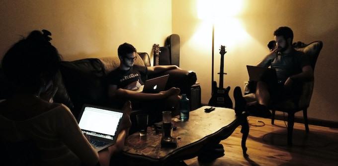 Sacha (left), Andrew (center), Anthony (right)