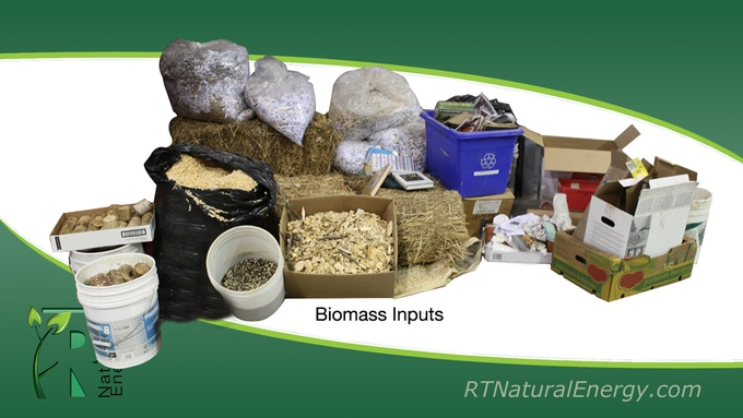 A Few Biomass Input Examples.....There Are Plenty More!