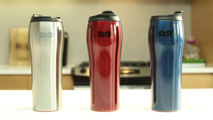 Mighty Mug Go Stainless Steel
