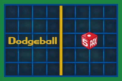 Dodgeball - Primary Mechanic: Lite Strategy & Dice Rolls