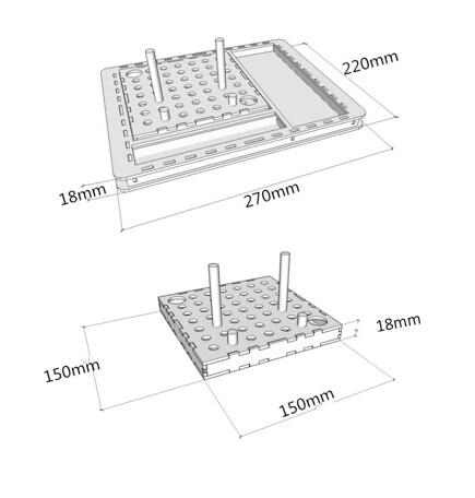 LaserCut IDEAs PLYDO Desk Oragniser by Yang CHEN — Kickstarter