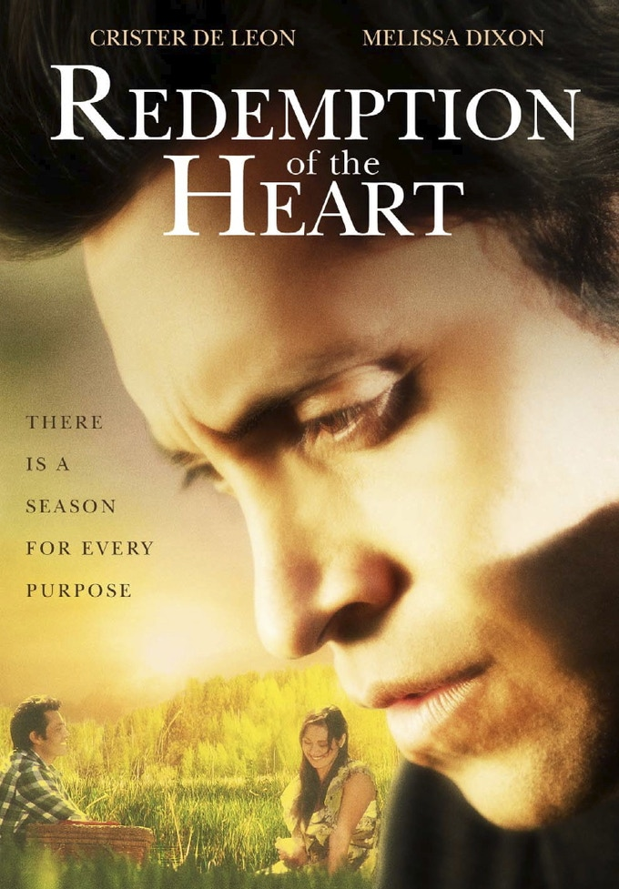 Redemption of the Heart Movie Poster and DVD Cover