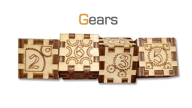 Tinker Gear Box dice