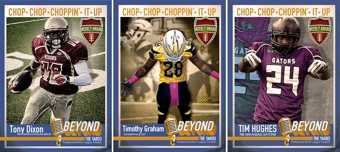 Some of the Chop-Chop-Chopin' It Up Award Trading Cards