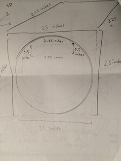 Prototype A-1 Drawing of Mold