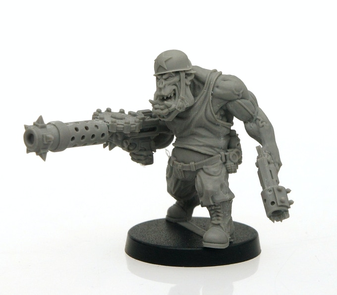 Orc Master Model (assembled)