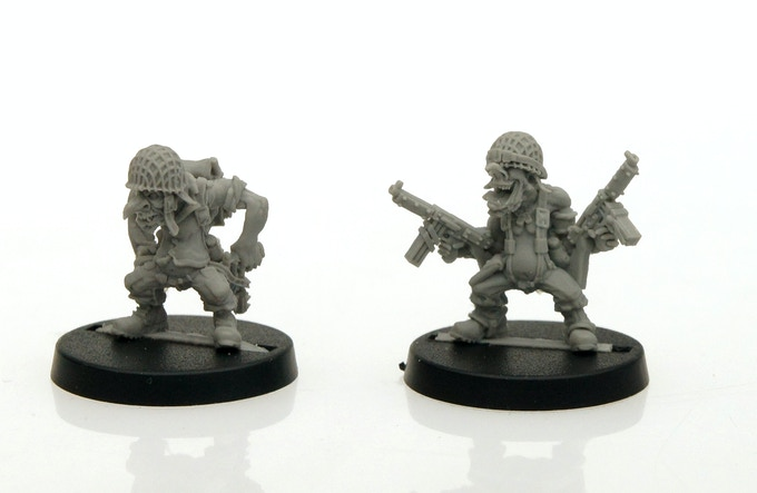 Goblin - resin master models (assembled)