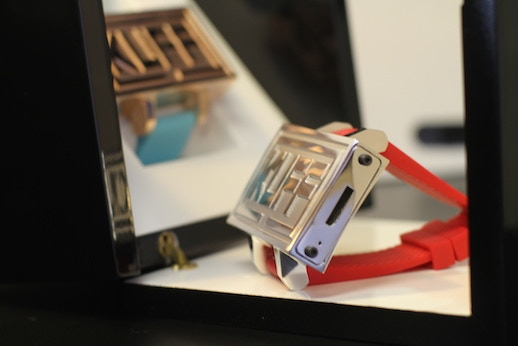 KUFF Prototype A-2 Limited Edition Silver & Rose Gold Side View