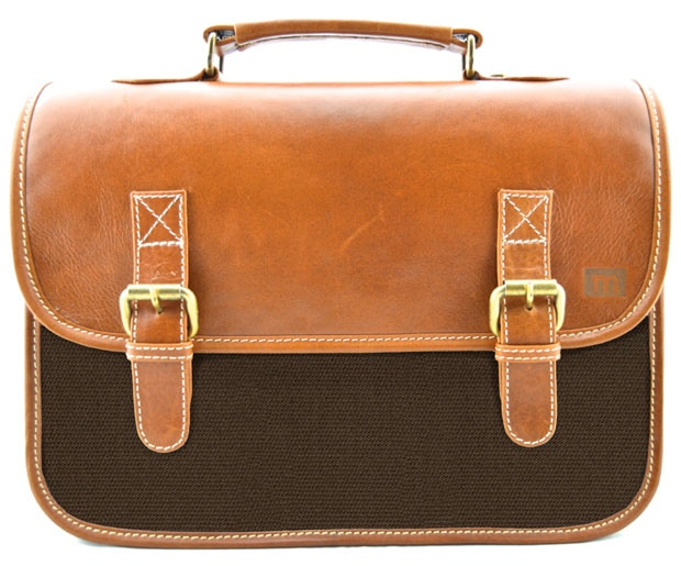 The Classic: Tobacco Leather, Coffee Brown; $125