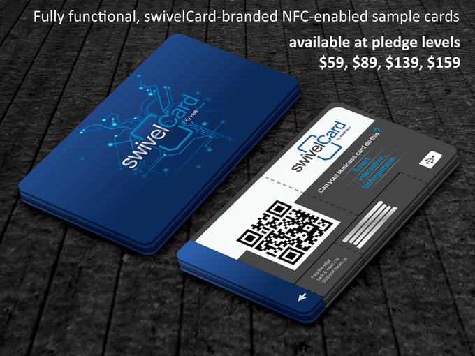 Swivelcard smart business cards by andrew depaula kickstarter what can swivelcard do reheart Choice Image