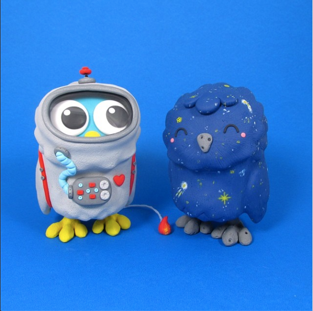 Jenn & Tony Bot are best known for their ultra colourful customs. Their style is full of rainbows, unicorns, colour and are some of the cutest in the community. Go check out their work at http://instagram.com/thejennbot & http://instagram.com/thetonybot
