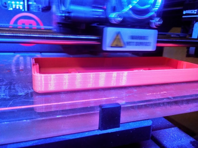 Prototype being 3D Printed