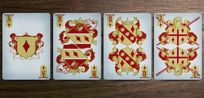 Coat of Arms Deck - Diamond Court Cards