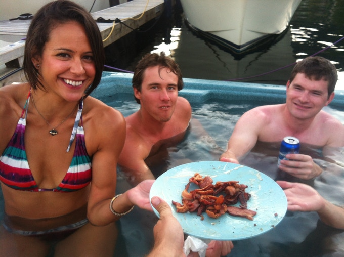 Hot Tub Bacon