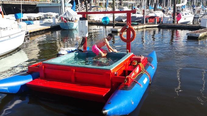 Docking...