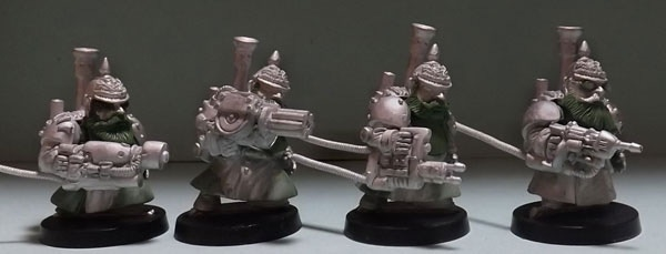 Part of SET ONE Prussian Steampunk Heavy Weapons