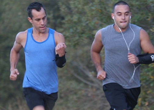 Running with the Syte Sleeve