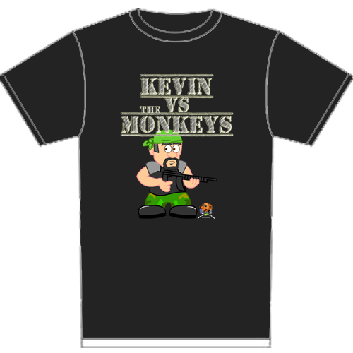 Black Kevin T-Shirt