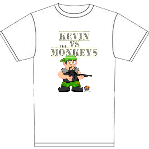 White Kevin T-Shirt