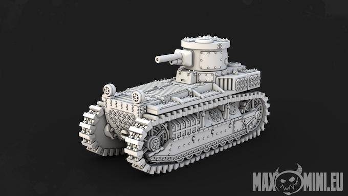 Small Tank - T1 Cunningham