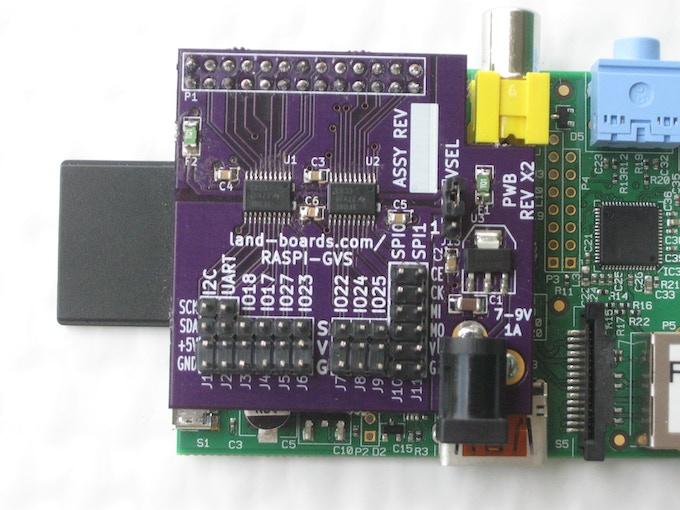 GVS Board for the Raspberry Pi