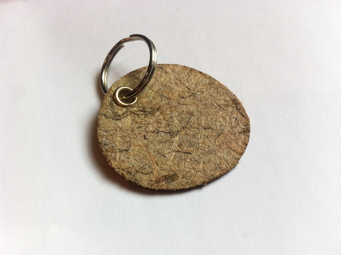Hemp Keyring (will have laser etched logo and thank you message)