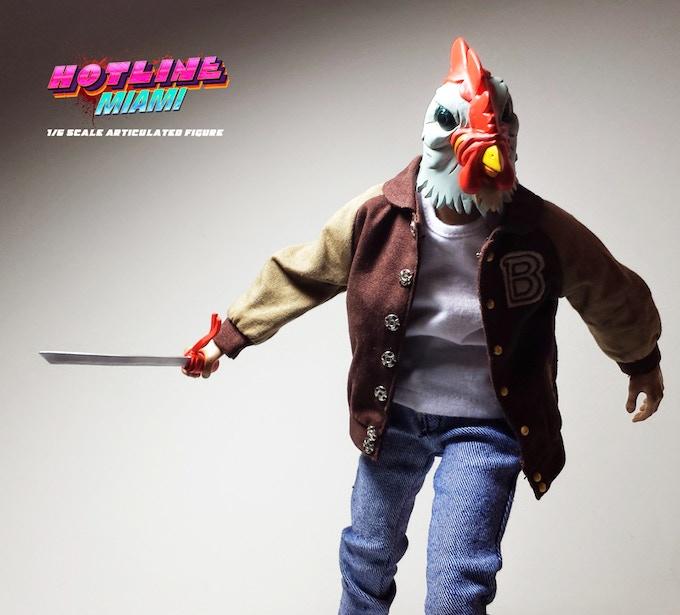 *Prototype with Richard mask head and katana