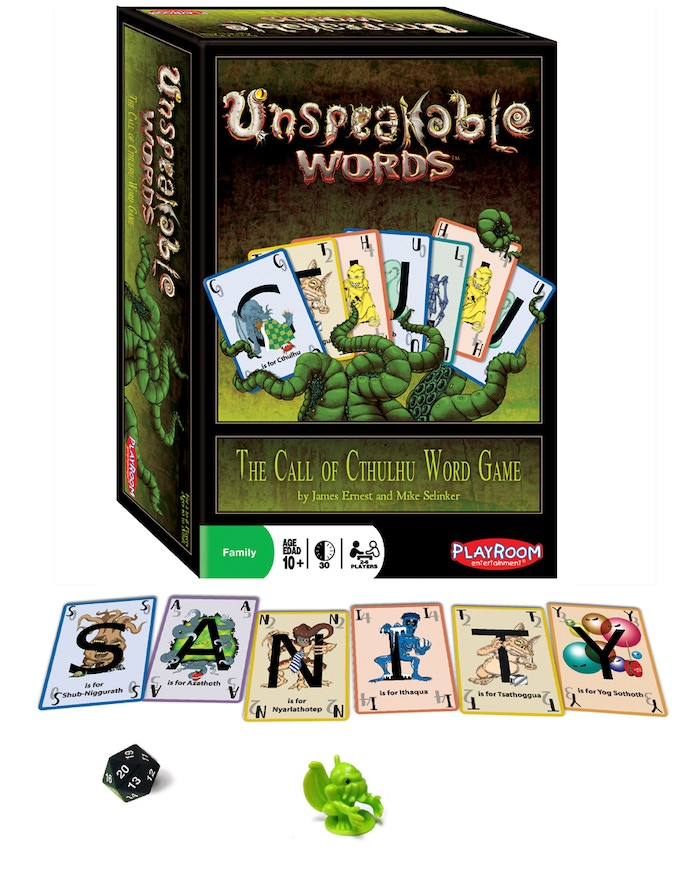 Classic Edition of Unspeakable Words