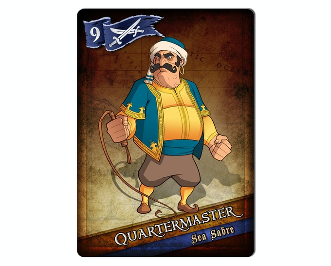 The Quartermaster of the Sea Sabre