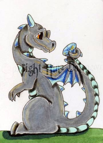 Concept Art for April's Birthstone Dragon