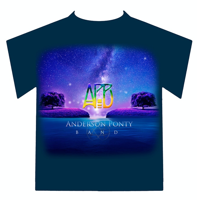 """Exclusive Kickstarter Only APB Shirt.  Select the $100 """"Shirt and Music"""" Reward or Get It Free With Any Pledge of $250 and Above"""