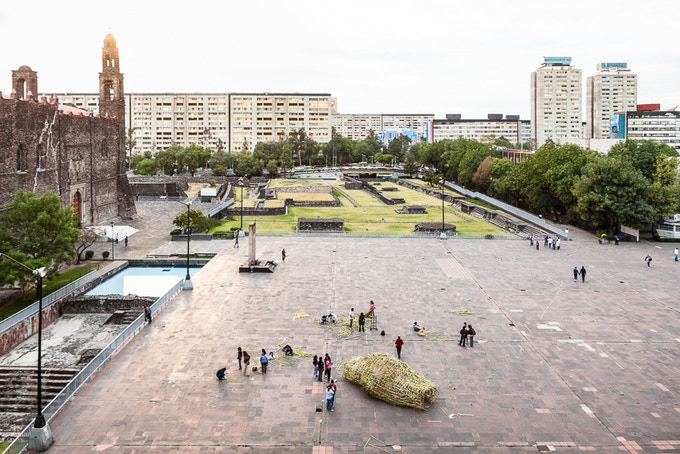 COCOON in Tlatelolco, Mexico City.