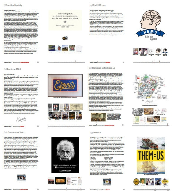 General Thinker Preview | Sample Spreads