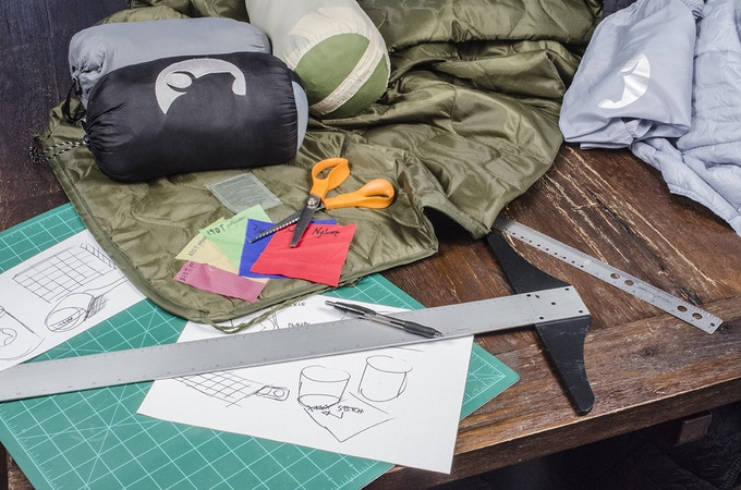 Tribe Provisions Adventure Blanket design process