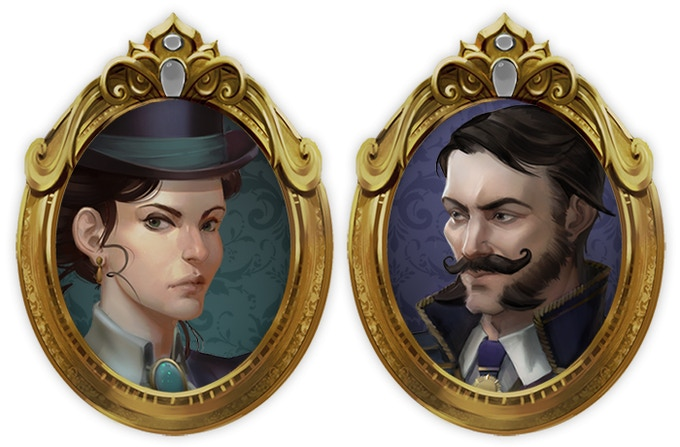 Aeres Powell and William Beechwood, Ironcast Commanders.