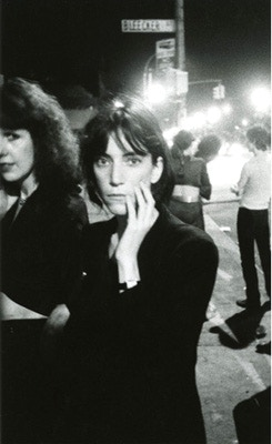 Patti Smith, Bowery 1976
