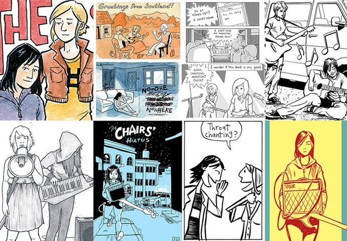 A sample of some of the fantastic guest art folks have contributed.